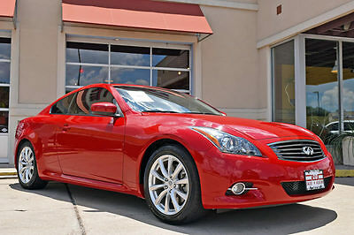 2013 Infiniti G37 Journey 2013 Infiniti G37 Journey Coupe, Navigation, Leather, Moonroof, And More!