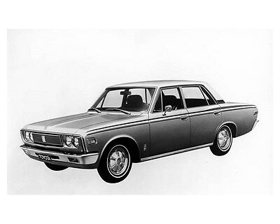 1970 Toyota Crown 4 Door Sedan Factory Photo ub2252