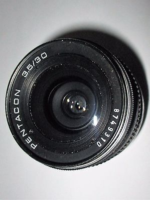 Pentacon 3.5 30Mm M42 Mount Lens