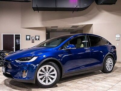2016 Tesla Model X  2016 Tesla Model X 90D SUV MSRP $115k+ Premium Upgrades PKG Seven Seating Loaded