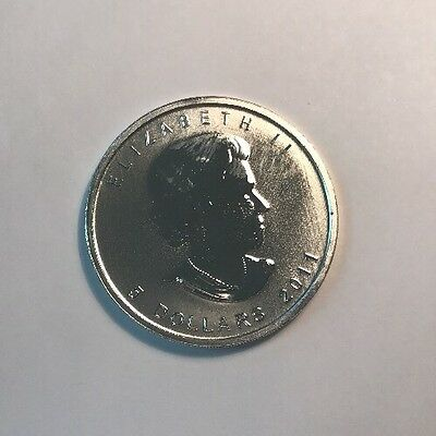 2011 Canadian Grizzly Bear 1 Oz Silver Coin P