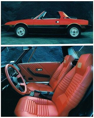 1983 1984 Bertone X1/9 Factory Photo ca6722