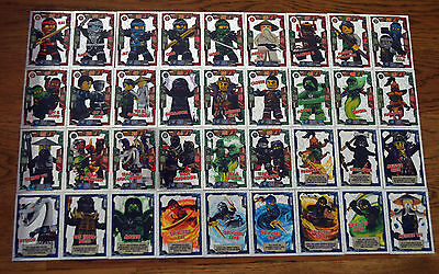 Lego Ninjago™ Trading Card Game all 36 Spezial Films Foil Cards complete Set