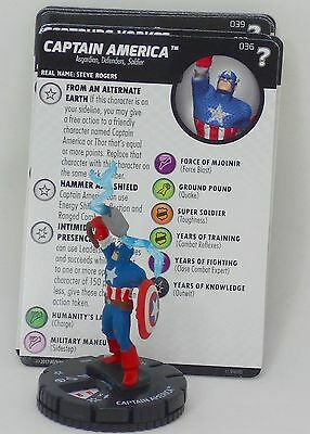 Heroclix What If 15th anniversary # 036 Captain America