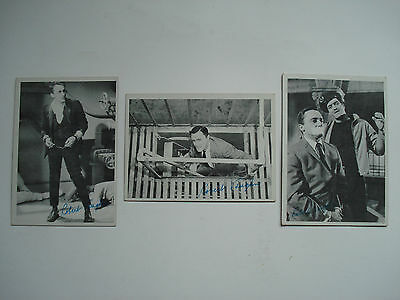 The Man From U.n.c.l.e  Lot Of 3 Different Trading Cards Vintage Topps 1965