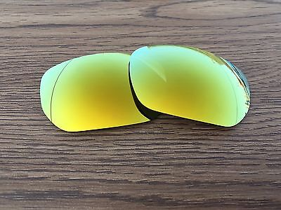 Inew 24K Gold polarized Replacement Lenses for Oakley Style Switch
