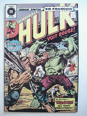 FRENCH COMIC EDITION HERITAGE INCREDIBLE HULK No. 38