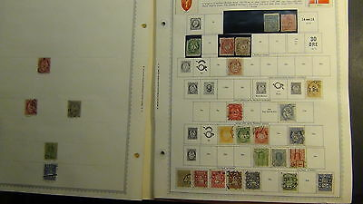 Norway  stamp collection on Minkus pages to '90