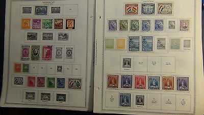 Paraguay stamp collection on Minkus pages  to '87