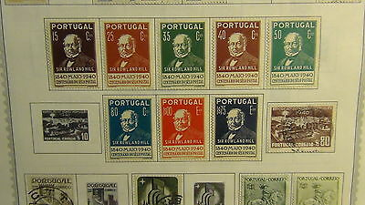 Portugal stamp collection on Minkus pages  to '84