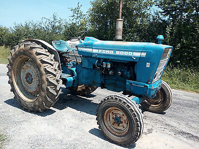 Ford 5000 Force 2WD classic tractor