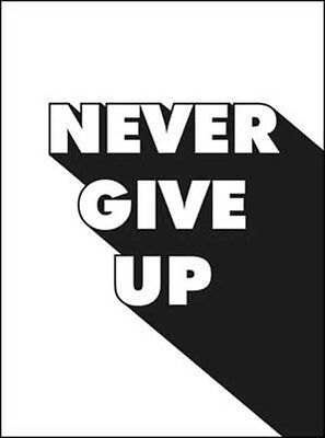 Never Give Up, 9781786850416