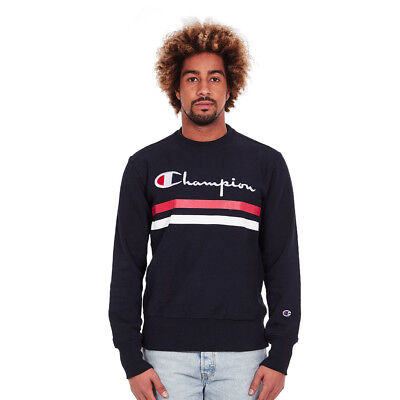 Champion - Crewneck Sweatshirt New Navy Pullover Rundhals