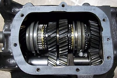 SAGINAW 3 SPEED TRANSMISSION 2.54 1ST  GEAR 10 x 27 NEW GEARS  1 YEAR WARRANTY