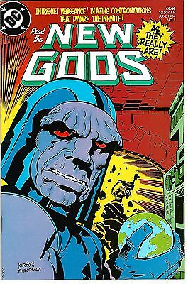 "New Gods #'s 1-6 (1984) VF/NM to NM+  Reprints ""New Gods #'s 1-11""  Jack Kirby"