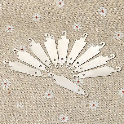 10pcs Stainless Steel NEEDLE THREADING Kit For Sewing Cross Stitch Embroidery