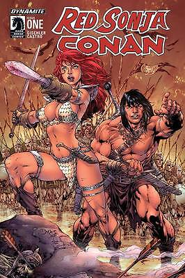 RED SONJA CONAN #1, Benes cover, New, First Print, DC Comics (2015)