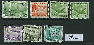 Chile - 1960 Airmails - Used