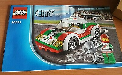 Lego Manual Only # 60053