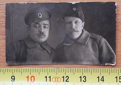 Photo of two Russian soldiers during the first world war WW1 RELIC