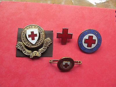 British Red Cross Collection Of Rare  Vintage Badges Set 6