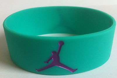 Michael Jordan Sneaker Jumpman Armband Neu - New GRAPE (EMERALD/PURPLE)
