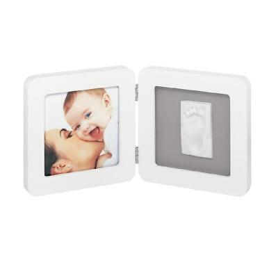 Baby Art My Baby Touch Frame (White/Grey) 1-piece - includes casting kit