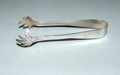 Solid Silver Sugar Tongs. Claw Ends. J.s & S. Birmingham. 1939..?