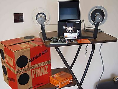 Prinz Oxford 800 DUAL EDITOR FOR STANDARD 8mm & SUPER 8 4027