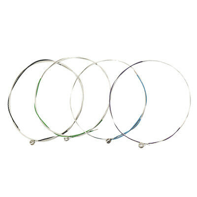 Full Size Viola Strings w/ End Ball 4Pcs/Set Nickel Plated Ball-end String