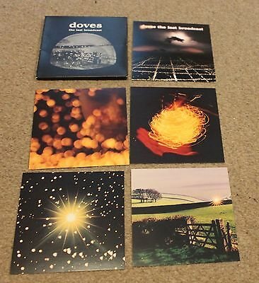 DOVES 'The Last Broadcast' Limited Edition POSTCARD SET of 5 (Heavenly) 2000
