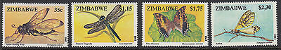 ZIMBABWE : 1995 Insects  set  SG 904-7 NMH