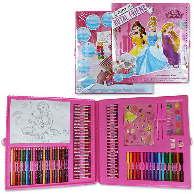 200tlg. XXL Disney Princess Malset Malkoffer Stifte Set Kinder Malen Sticker Set