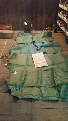 Buick And Others 1940's, Seat Covers, Green, 1Set, In Very Nice Condition !
