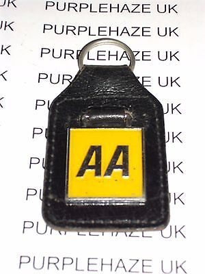 VINTAGE COLLECTABLE AA KEY FOB RING AUTOMOBILE ASSOCIATION RETRO 1950 s
