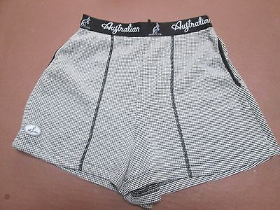 "Fine  vintage shorts by Australian, marked 44, about UK 8-10 (30"" at waist)"
