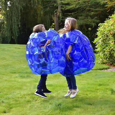 Kids Inflatable Buddy Bumper Ball Bounce Sumo Suits Pack of 2 Summer Garden Game