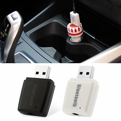 Car Wireless USB Bluetooth Adapter Hands-free AUX Music Player FM Transmitter XR
