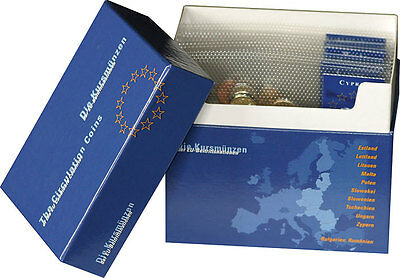 A set of pre Euro coins for some of the European Partners