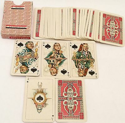 VINTAGE 1930  Non Standard  ** RUSSIAN N-702 * ANTI-RELIGIONS **  PLAYING CARDS