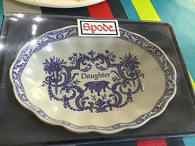 Spode Blue Room Daughter Mini Tray BNIB New Best