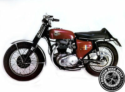 Low Level Exhaust Pipes - BSA A50 Wasp/A65 Hornet