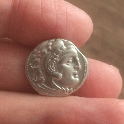 Macedon. Alexander The Great (336-323 B.c). Silver Drachm.