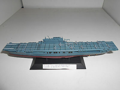 Portaviones Warship Aircraft Carrier Uss Cv-6 Enterprise Eaglemoss 1:1100
