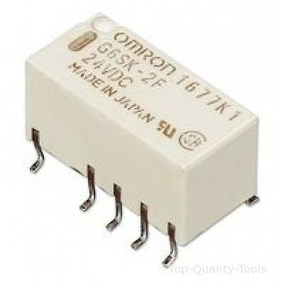 Relay, Dpdt, Smd, 2A, Latching, 12V Mpn: G6Sk2F12Dc Omron