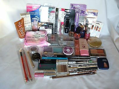 JOB LOT X 49 mixed Cosmetics - Rimmel, Maybelline, Collection 2000, NYC, Royal