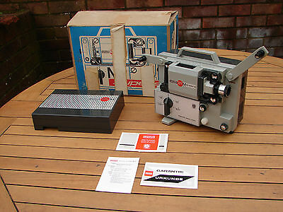 Eumig Mark M Super8 Cine Projector Boxed Mint Global Shipping