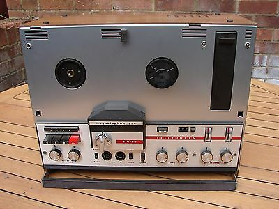 Telefunken Magnetophon 204 Reel to Reel Semi Professional Stereo Tape Recorder
