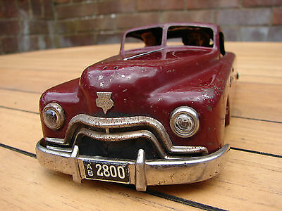 Arnold Primat Tinplate 1950s Car TLC Ultra Rare Global Shipping