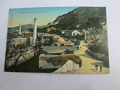 Postcard of Gibraltar, The Town from the South (unposted)